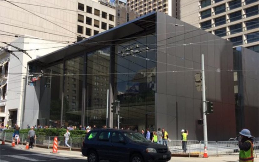 The cost of the renovation of the Apple Store in Union Square has