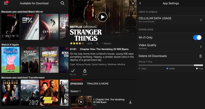 Becomes the content offline to Netflix at long last, these