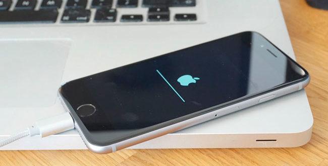Как сделать откат по на iphone 4