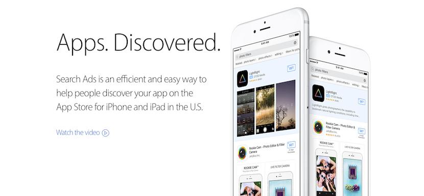 Anuncios del App Store