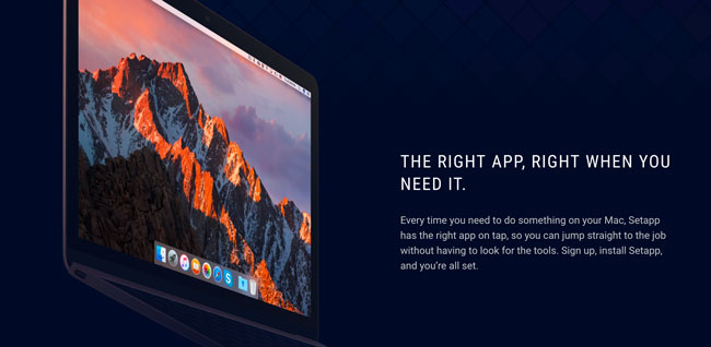 Setapp, the Netflix of applications for Mac now available