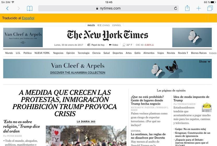 How to translate web pages into Safari for iOS without leaving the