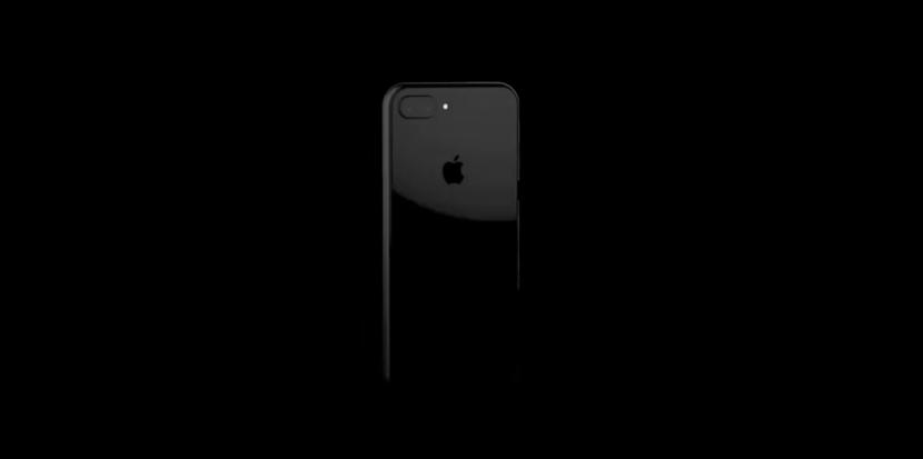 Cámara dual en el concepto de iPhone 8