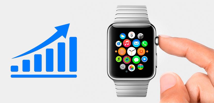 Ventas del Apple Watch arriba