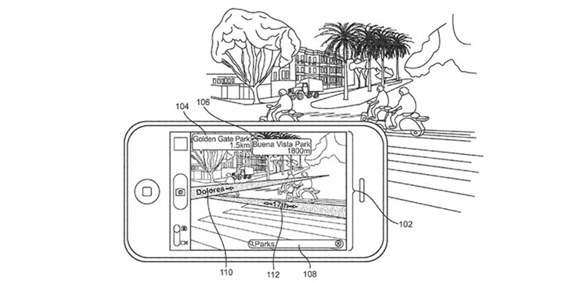Patente mapeado basado en Realidad Aumentada