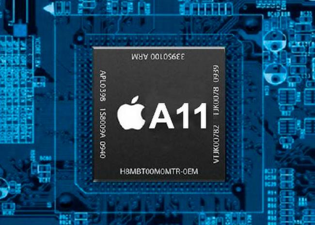 Chip A11 del iPhone 7s y 8