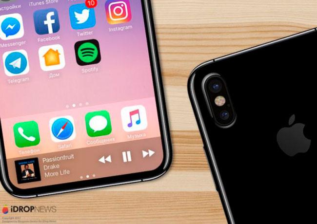 Concepto de iPhone 8