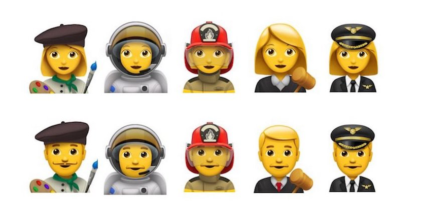 Apple wants that Unicode add others 10 emoji, as an