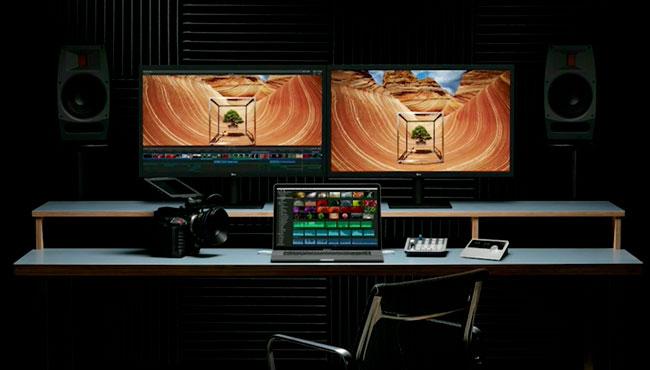 MacBook Pro con pantallas 4K y 5K