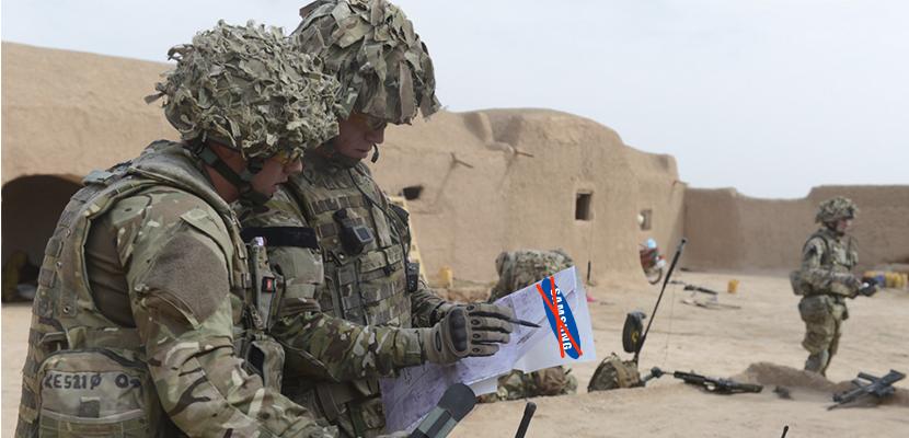 UK military communications