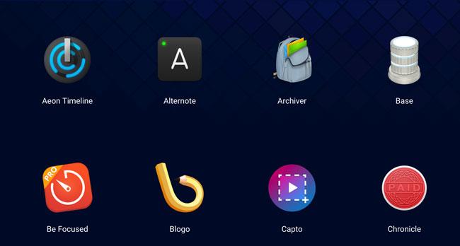 Algunas apps de Setapp