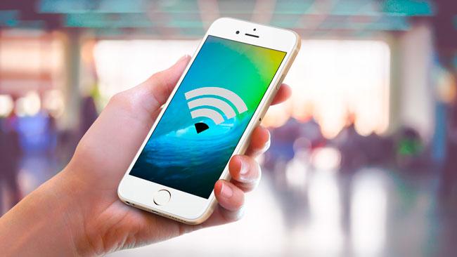 WiFi no funciona en iPhone