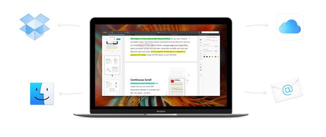 Colaborar en la nube con PDF Expert