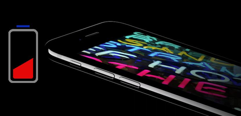 iPhone 7 Bateria baja