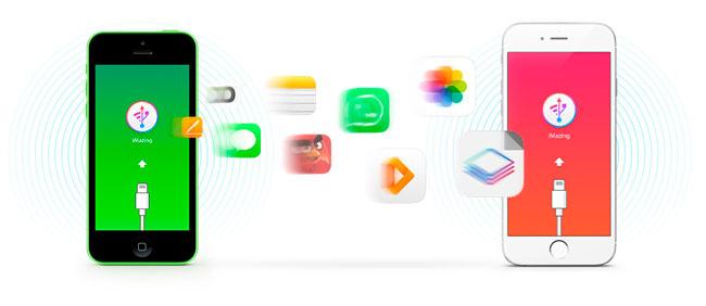 Transferir entre dispositivos iOS con iMazing